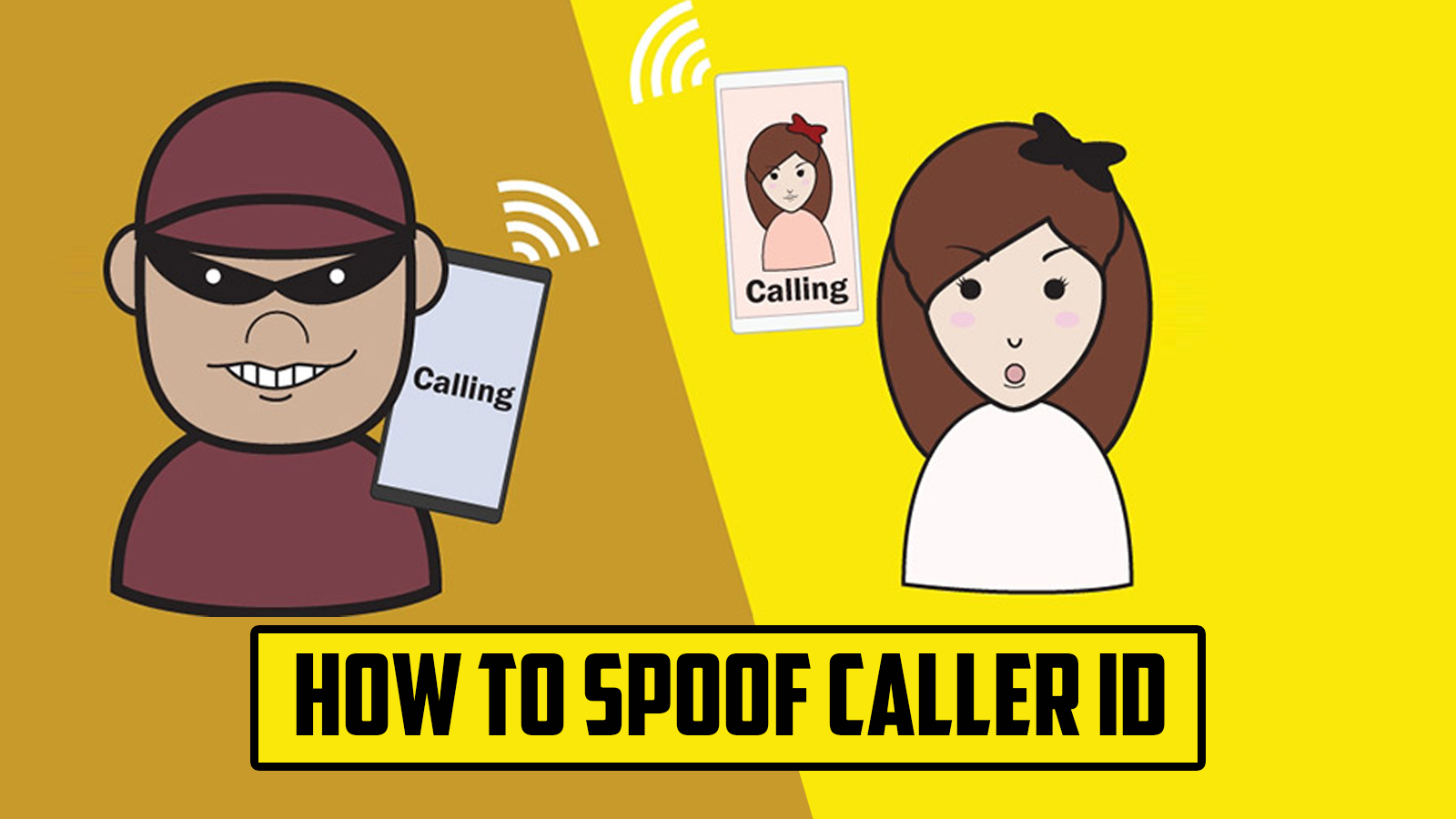 How To Spoof Caller ID | Never Ending Security