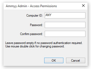 password ammy admin